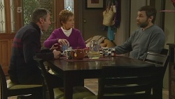 Karl Kennedy, Susan Kennedy, Jim Dolan in Neighbours Episode 6225