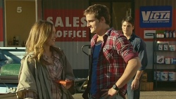 Sonya Mitchell, Kyle Canning, Chris Pappas in Neighbours Episode 6226