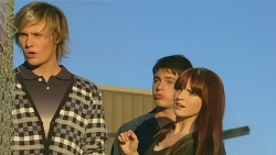 Andrew Robinson, Chris Pappas, Summer Hoyland in Neighbours Episode 6226