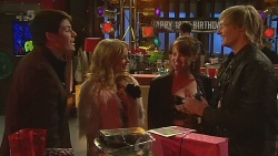 Chris Pappas, Natasha Williams, Summer Hoyland, Andrew Robinson in Neighbours Episode 6228