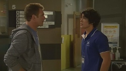 Michael Williams, Aidan Foster in Neighbours Episode 6230
