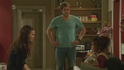 Jade Mitchell, Kyle Canning, Michelle Tran in Neighbours Episode 6231
