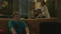 Callum Jones, Toadie Rebecchi, Sonya Mitchell in Neighbours Episode 6232