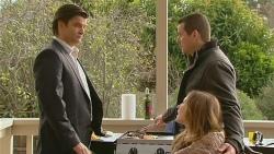 Peter Noonan, Toadie Rebecchi, Sonya Mitchell in Neighbours Episode 6233