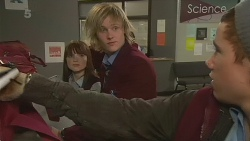Summer Hoyland, Andrew Robinson, Noah Parkin in Neighbours Episode 6234