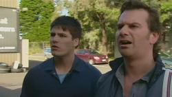 Chris Pappas, Lucas Fitzgerald in Neighbours Episode 6234