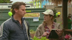 Lucas Fitzgerald, Sonya Mitchell in Neighbours Episode 6235