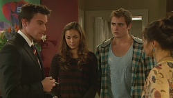 Rhys Lawson, Jade Mitchell, Kyle Canning, Michelle Tran in Neighbours Episode 6236