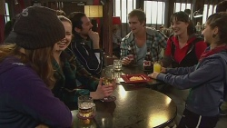Jade Mitchell, Kate Ramsay, Kyle Canning, Danielle Paquette in Neighbours Episode 6237