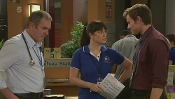 Karl Kennedy, Danielle Paquette, Rhys Lawson in Neighbours Episode 6238