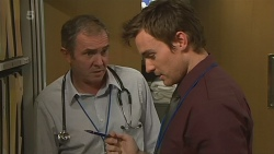 Karl Kennedy, Rhys Lawson in Neighbours Episode 6238