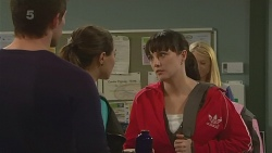 Rhys Lawson, Jade Mitchell, Danielle Paquette in Neighbours Episode 6242
