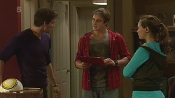 Rhys Lawson, Kyle Canning, Jade Mitchell in Neighbours Episode 6242