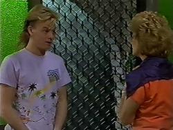Scott Robinson, Madge Ramsay in Neighbours Episode 0619