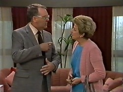 Harold Bishop, Eileen Clarke in Neighbours Episode 0620