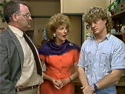 Harold Bishop, Madge Bishop, Henry Ramsay in Neighbours Episode 0620