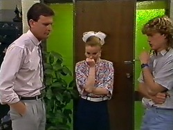 Des Clarke, Sally Wells, Henry Ramsay in Neighbours Episode 0620