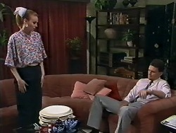 Sally Wells, Des Clarke in Neighbours Episode 0620