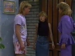 Scott Robinson, Charlene Robinson, Madge Ramsay in Neighbours Episode 0621