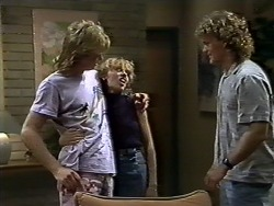 Scott Robinson, Charlene Mitchell, Henry Ramsay in Neighbours Episode 0622