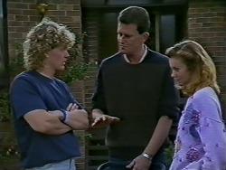 Henry Ramsay, Des Clarke, Sally Wells in Neighbours Episode 0624