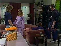 Henry Ramsay, Sally Wells, Des Clarke in Neighbours Episode 0624