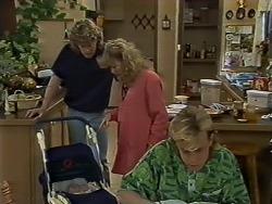 Jamie Clarke, Henry Ramsay, Charlene Mitchell, Scott Robinson in Neighbours Episode 0624