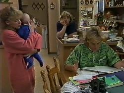 Charlene Mitchell, Jamie Clarke, Henry Ramsay, Scott Robinson in Neighbours Episode 0624