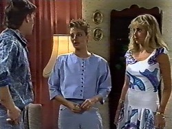 Mike Young, Gail Robinson, Jane Harris in Neighbours Episode 0625