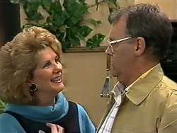 Madge Bishop, Harold Bishop in Neighbours Episode 0625