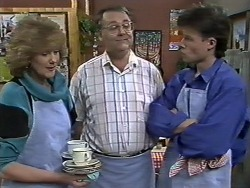 Madge Bishop, Harold Bishop, Mike Young in Neighbours Episode 0626