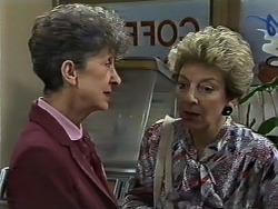 Nell Mangel, Eileen Clarke in Neighbours Episode 0627