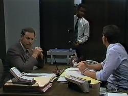 Malcolm Clarke, Pete Baxter, Des Clarke in Neighbours Episode 0627
