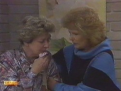 Eileen Clarke, Madge Bishop in Neighbours Episode 0628