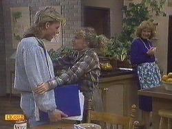 Scott Robinson, Charlene Robinson, Madge Ramsay in Neighbours Episode 0628