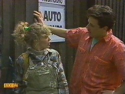 Charlene Mitchell, Tony Romeo in Neighbours Episode 0628