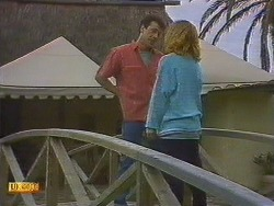Tony Romeo, Sally Wells in Neighbours Episode 0628