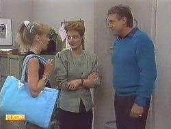 Jane Harris, Gail Robinson, Glen Matheson in Neighbours Episode 0629