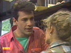 Tony Romeo, Charlene Robinson in Neighbours Episode 0629