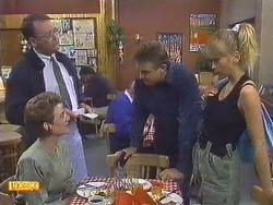 Harold Bishop, Gail Robinson, Glen Matheson, Jane Harris in Neighbours Episode 0629