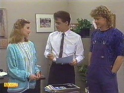 Sally Wells, Paul Robinson, Henry Ramsay in Neighbours Episode 0629
