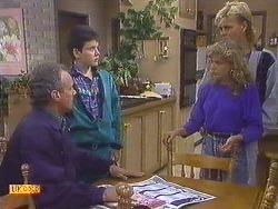 Jim Robinson, Lucy Robinson, Charlene Robinson, Scott Robinson in Neighbours Episode 0629