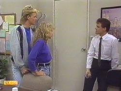 Scott Robinson, Charlene Robinson, Paul Robinson in Neighbours Episode 0629