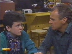 Lucy Robinson, Jim Robinson in Neighbours Episode 0629