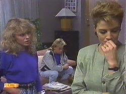 Charlene Robinson, Scott Robinson, Gail Robinson in Neighbours Episode 0629