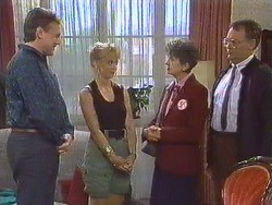 Glen Matheson, Jane Harris, Nell Mangel, Harold Bishop in Neighbours Episode 0630
