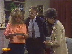 Jane Harris, Harold Bishop, Nell Mangel in Neighbours Episode 0630