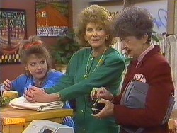 Melanie Pearson, Madge Bishop, Nell Mangel in Neighbours Episode 0631