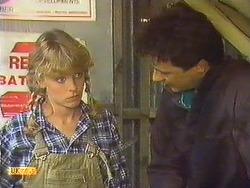 Charlene Mitchell, Tony Romeo in Neighbours Episode 0632