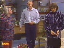 Helen Daniels, Jim Robinson, Beverly Marshall in Neighbours Episode 0632